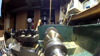 SAE 1020 Barstock or Turning brass on a Lathe