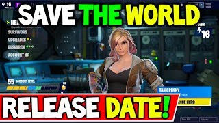 "FORTNITE ""SAVE THE WORLD FREE"" RELEASE DATE CHANGED! (SAVE THE WORLD for FREE!)"