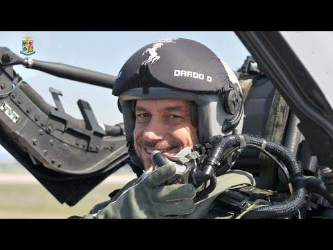 Aeronautica Militare - Alberto Angela in volo su un Eurofighter
