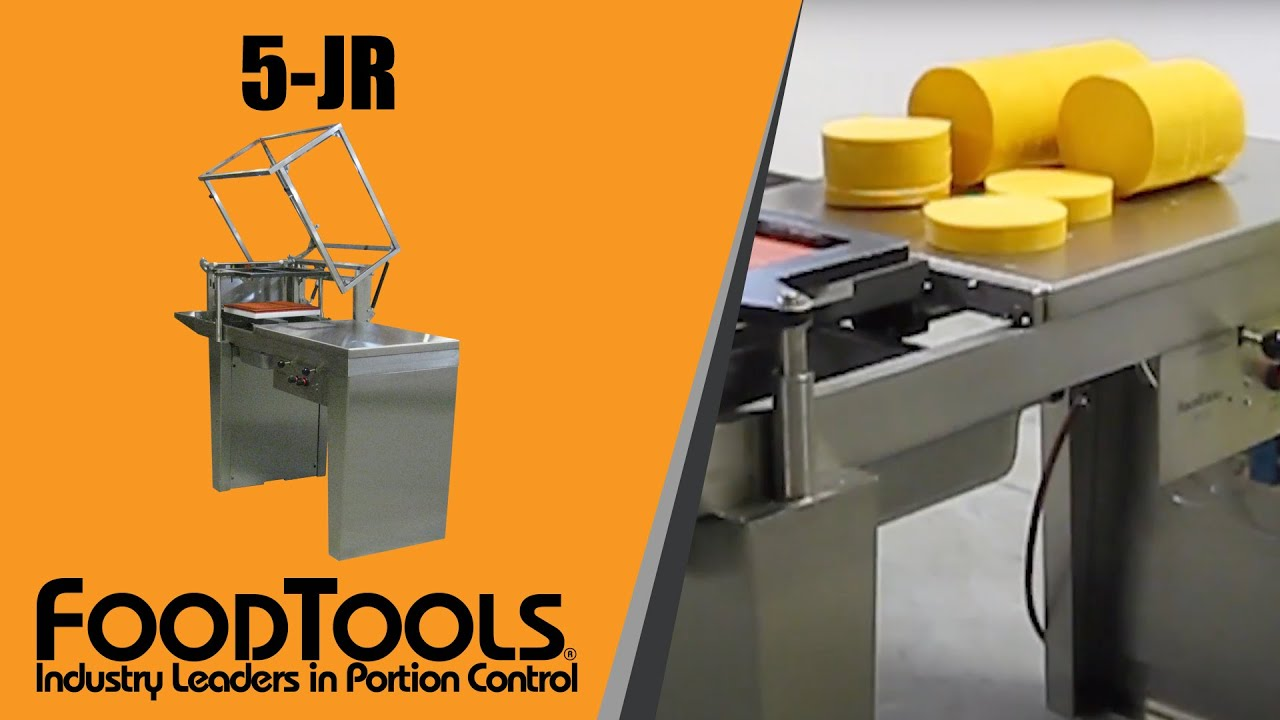 Block and Loaf Wire Cheese Cutting Machine - 5-JR FoodTools - YouTube