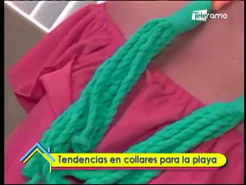 Tendencias en collares para la playa
