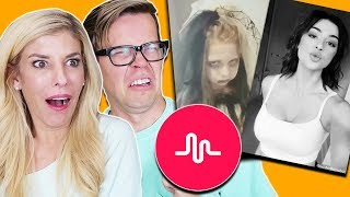 REACTING TO CRINGY HALLOWEEN MUSICAL.LYS CHALLENGE!