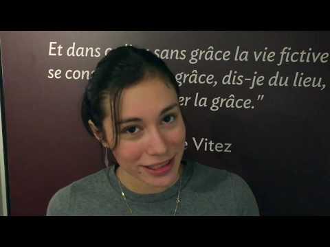 Manon, élève comédienne au Studio Muller