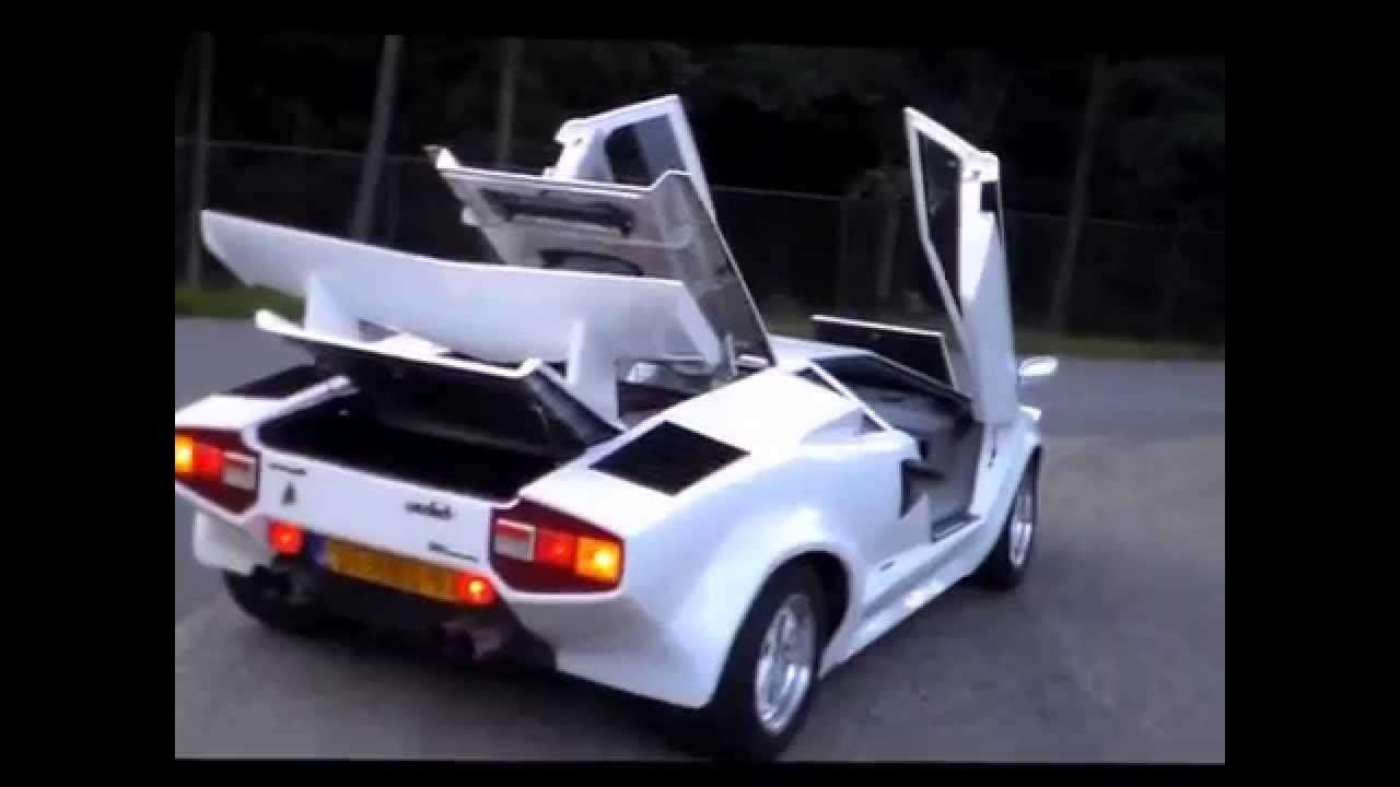 ABS Scorpion Lamborghini Countach Replica - YouTube