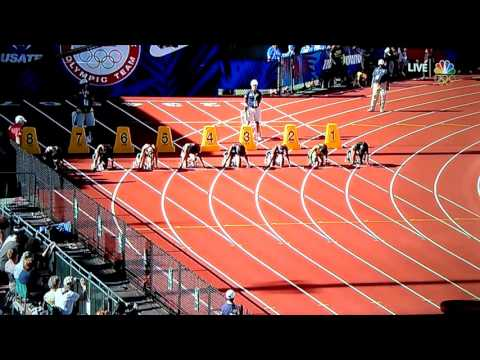 English Gardner Wins Women's 100m 10.74!!!Wind Legal...beats Tori Bowie(Olympic Trials 2016)