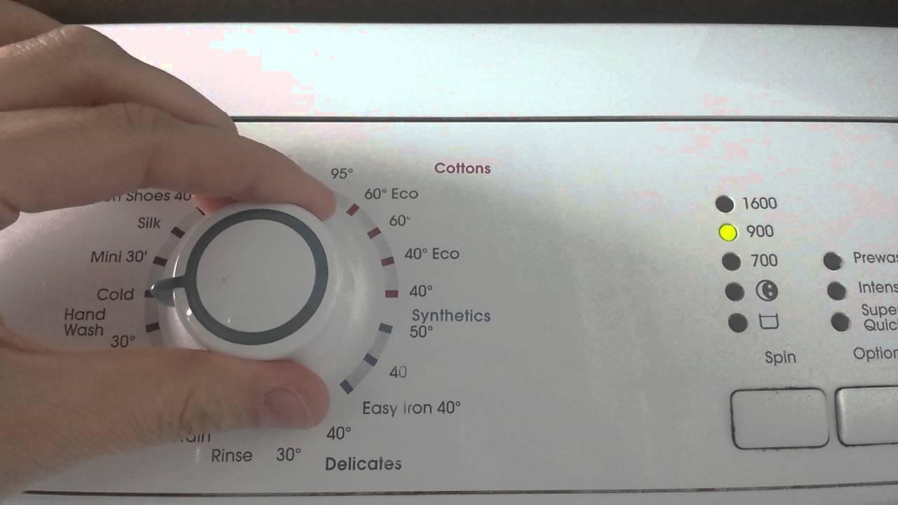 Zanussi Washing Machine Youtube