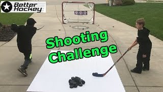 Kids HocKey Shooting Challenge Cbanks vs TG