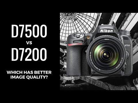 Nikon D7500 vs Nikon D7200 - Does the D7500 Have BETTER Image Quality than the D7200?
