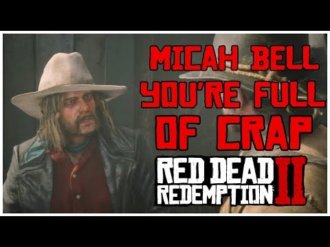 Top 4 Times Arthur caught Micah Lying | Red Dead Redemption 2 thumbnail