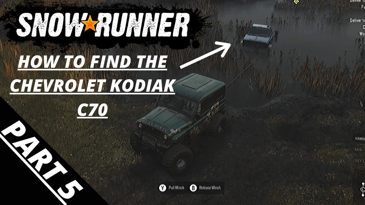 Snowrunner How To Find The Chevrolet Kodiak C70 Part 5 Xbox One