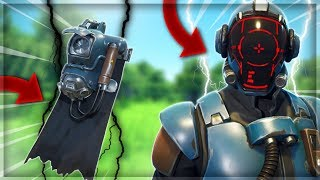 "TOP 1 with the NEW SKIN SuperProduction ""THE VISITEUR"" on Fortnite Battle Royale"