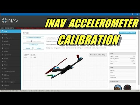 INAV 6 Point Accelerometer Calibration
