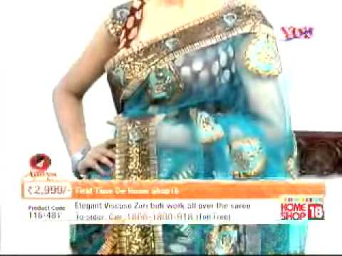 Homeshop18com Maha Bachat Saree Offer By Zoha