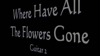 How To Play Peter, Paul & Mary Where Have All The Flowers Gone (full lesson - both guitar parts)