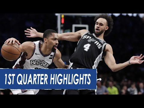 san-antonio-spurs-vs-brooklyn-nets-1st-qtr-highlights