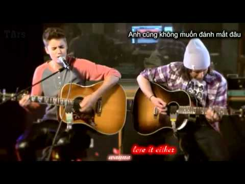 [KARA+VIETSUB] Justin Bieber - Fall (Aucoustic Live On BBC)
