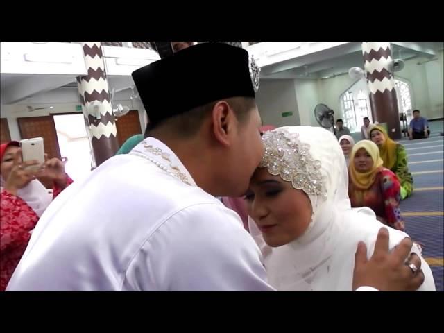 Majlis Pernikahan Shikin dan Mijie