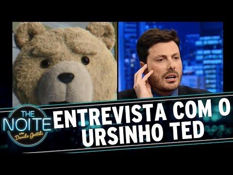 The Noite (26/08/15) - Danilo Gentili Entrevista Ted