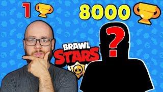 MA 8000 PUCHARKÓW - ZGODZIŁ SIĘ ZAGRAĆ! | BRAWL STARS