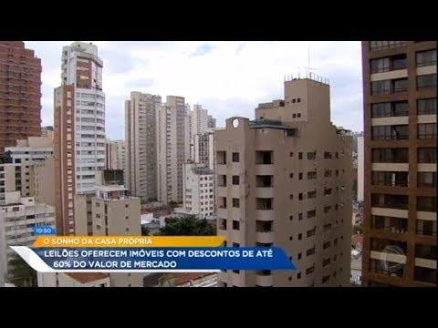 Leilão Oferece Imóveis Com Até 60% De Desconto