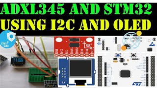 ADXL345 with STM32 || I2C || OLED || CubeMx || Keil || HAL library
