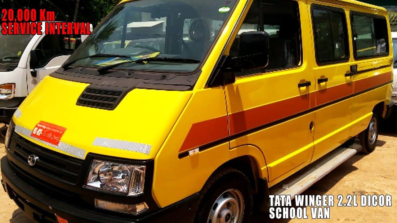 ee8fcc761f9 2019 Tata Winger 2.2L Dicor School Van, Seating Capacity 13+D, Mileage 16  Km/L, Price 12 Lakhs