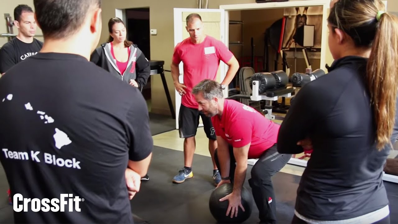 Neutral Spine From The Crossfit Level 1 Trainer Course Youtube