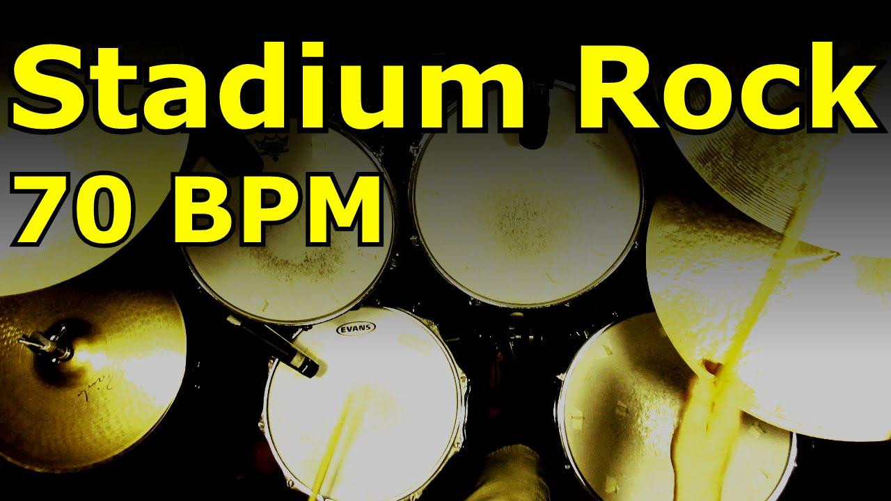Straight Rock Drum Loops & Beats by Jim Dooley