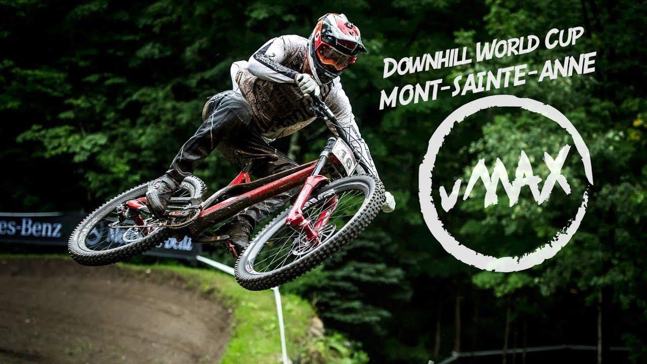 2709c870146 Regen. Matsch und Vollgas! vMAX Raw – Downhill World Cup 2018 Mont ...