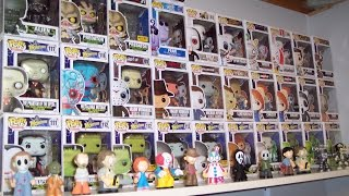 My Complete Funko Pop Horror Collection (HD)