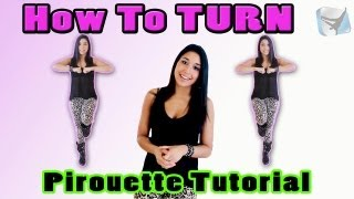 HOW TO TURN! JAZZ Dance Tutorial pt 4 | Pirouette for Beginners (Step-by-Step)