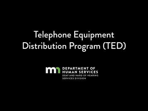Telephone Equipment Distribution Program