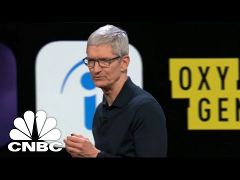 WWDC: Apple CEO Tim Cook Delivers Keynote | CNBC