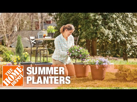 Summer Planters | The Home Depot