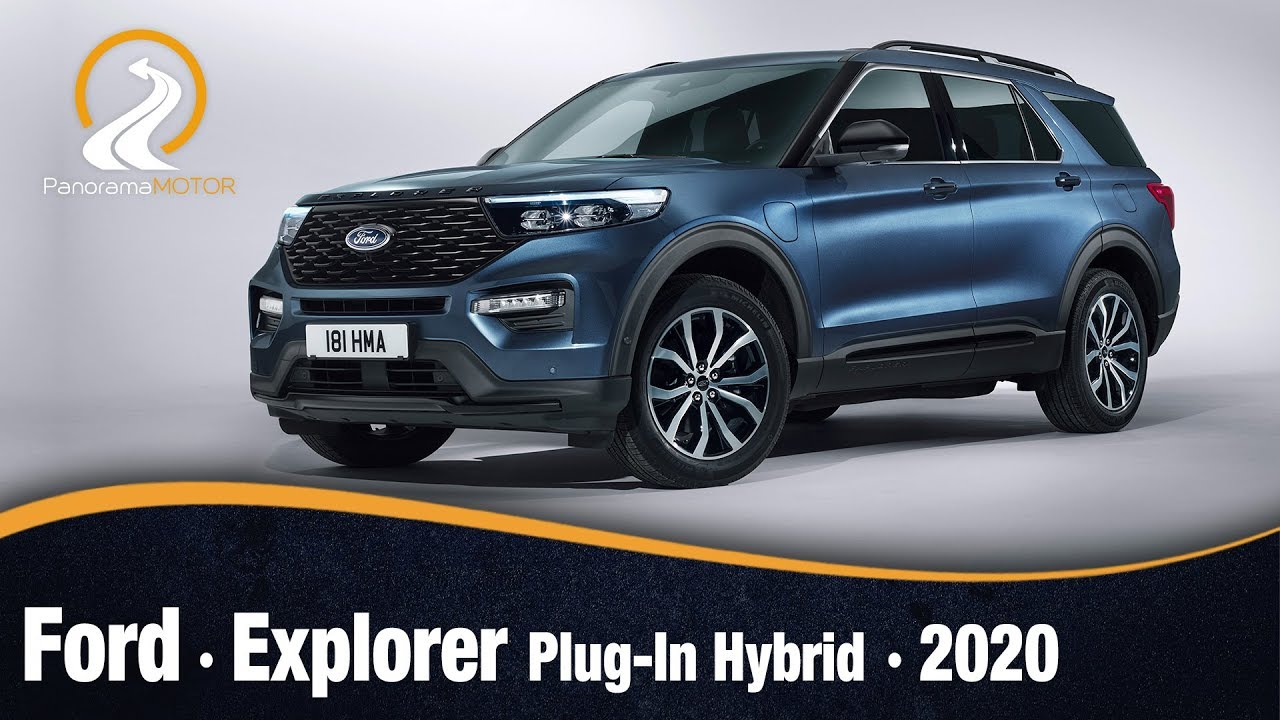 Ford Explorer Plug In Hybrid 2020 Informacion Y Review Youtube