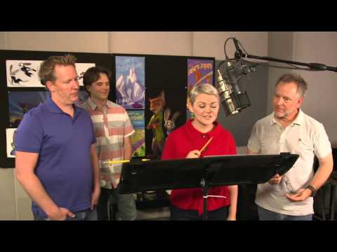Zootopia: Voice Recording Behind the Scenes Movie Broll