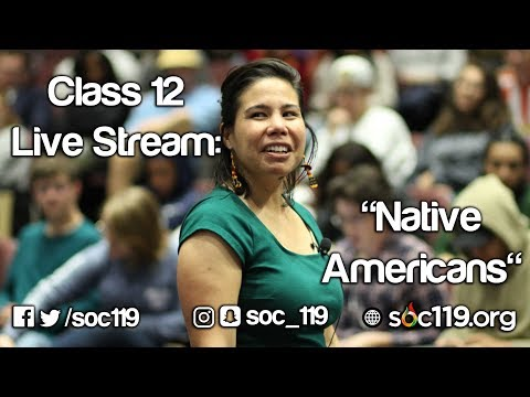 Soc 119 - Class #12: Explaining Native American Culture To A Child (Re-Upload)