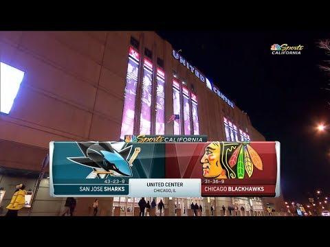 San Jose Sharks vs. Chicago Blackhawks (26.03.2018) Highlights