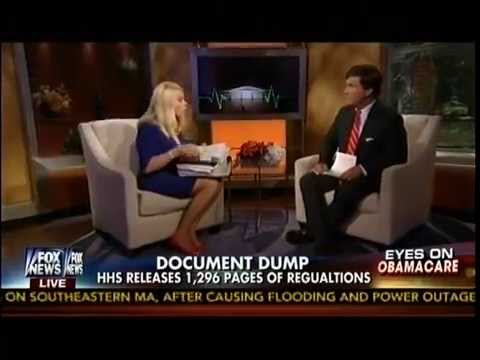Obamacare Fireworks - HHS Dumps 1,296 Pages Of Regulations Before Long Weekend - Fox & Friends