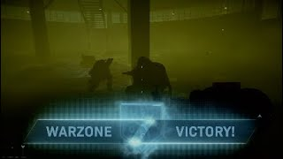 Winning Warzone inside stinky gas gulag!