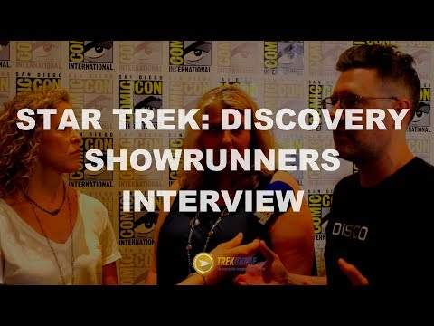 Thumbnail: Exclusive Interview with Star Trek: Discovery Showrunners - SDCC 2017