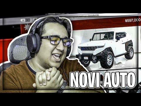 NAJNOVIJI AUTO U GTA V + 5 NOVIH AUTOMOBILA ! Grand Theft Auto V