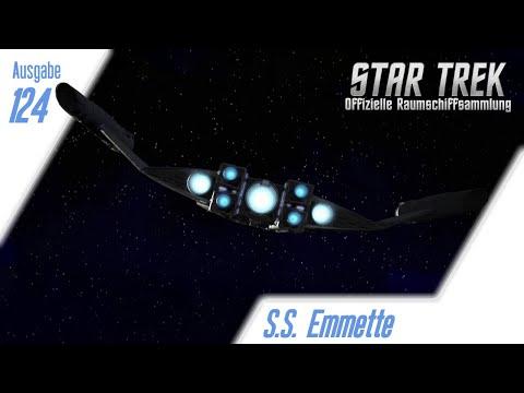 star-trek:-die-offizielle-raumschiffsammlung:-ausgabe-124:-s.s.-emmette