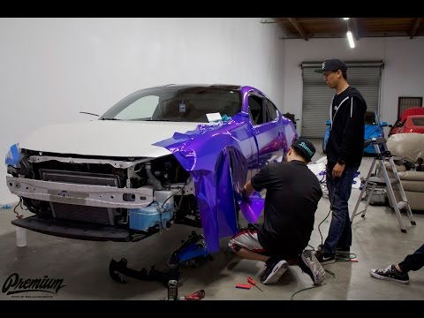 WRAPPING TJ HUNT'S BRZ - (NEW WRAP REVEAL)