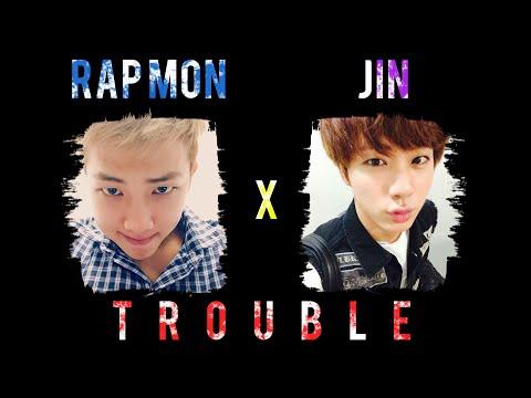 BTS Rap Monster x Jin - Trouble [Lyrics Han|Rom|Eng] 랩몬스터 x 진