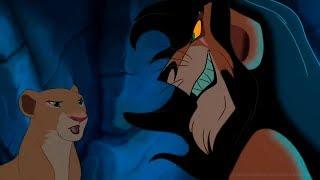 Король лев Шрам и Нала - Золушка прикол
