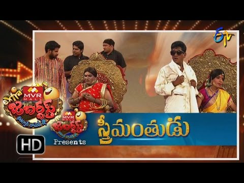 Extra Jabardasth - 9th September 2016- 100 Episode Special Full Episode – ETV Telugu