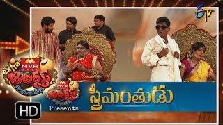 Extra Jabardsth 9th September 2016- 100 Episode Special Full Episode – Etv Telugu