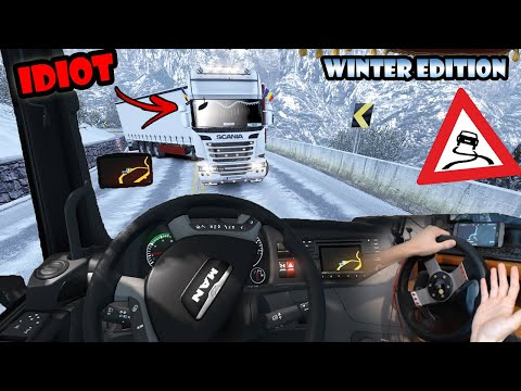 ★ IDIOTS On The Road #70 - ETS2MP | Funny Moments - Euro Truck Simulator 2 Multiplayer