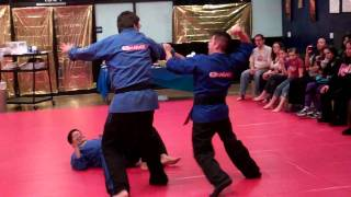 Mile high karate fresno black belt demo